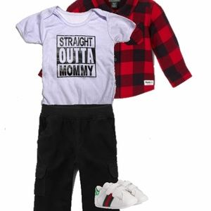 NWA Style Baby Straight Outta Mommy Onesie